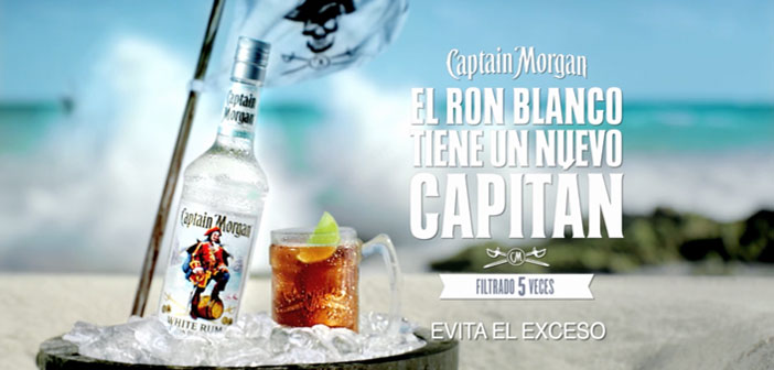 El Ron Blanco tiene un Nuevo Capitán:  Captain Morgan White